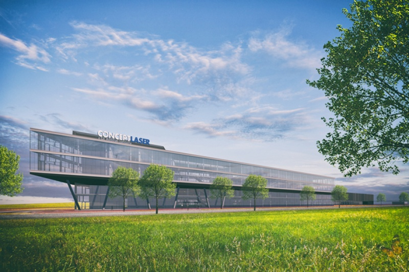 5万平米的GE全球3D打印中心在德国奠基,Concept Laser增长强劲