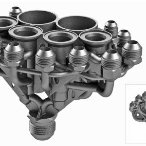 【采矿机械案例】增材设计优化液压分路阀箱:减少90%的重量