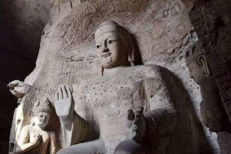 """历时2年,3D打印将17.9米的云冈最大洞窟""""灵岩寺""""完整复制"""