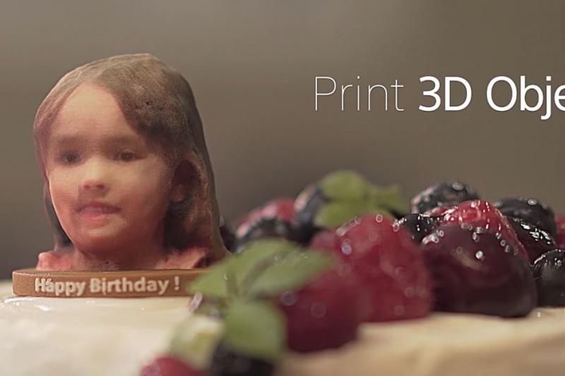 索尼手机发布三维扫描APP 3D Creator,一键打通全彩3D打印