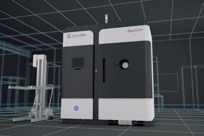 GE推出全新金属3D打印系统Arcam EBM Spectra H