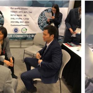美国2018 Rapid+TCT展,中航迈特全球发布20余种金属3D打印标准粉末产品
