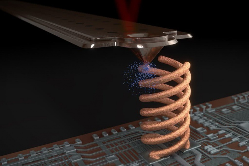Cytosurge公司3D打印机,可在现有结构上进行金属3D打印