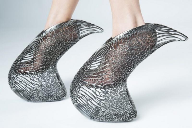限量发售5双,这双3D打印高跟鞋估计只有Lady Gaga能驾驭了