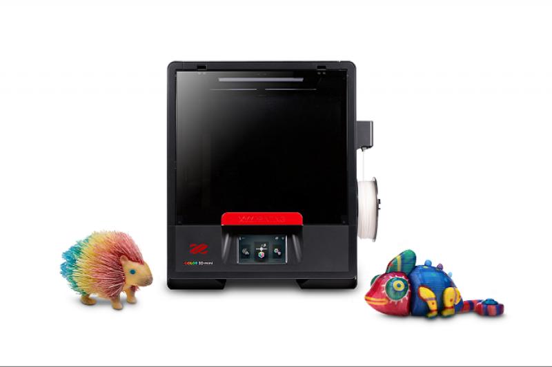 迷你版全彩3D打印机 三纬国际再度拓展达芬奇系列