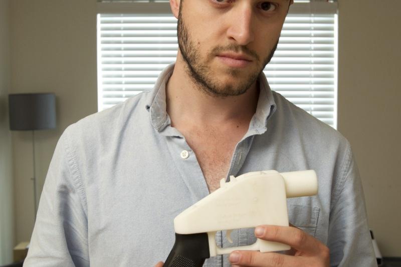 为什么3D打印枪背后的人,Cody Wilson说他会继续斗争