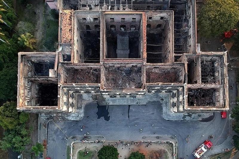 3D打印将拯救巴西国博大火中烧毁的记忆