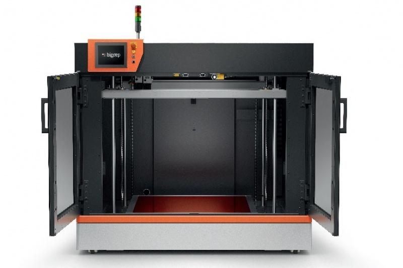 BigRep的新款工业级大幅面3D打印机打印速度提升了五倍?