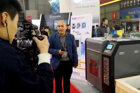 亘易隆FDM金属3D打印机新品闪耀2019TCT首日