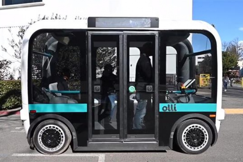 欢迎乘坐Olli 3D打印自动通勤车