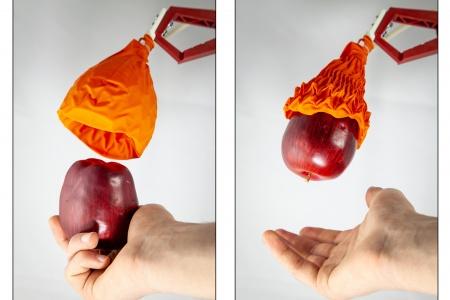 真空驱动折纸魔术球机器人抓手