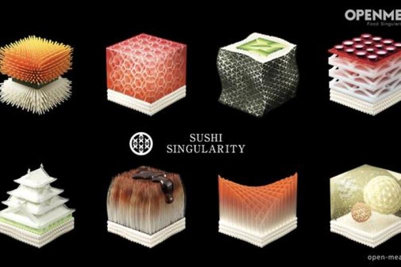 生物取样跟3D打印寿司究竟什么关系?