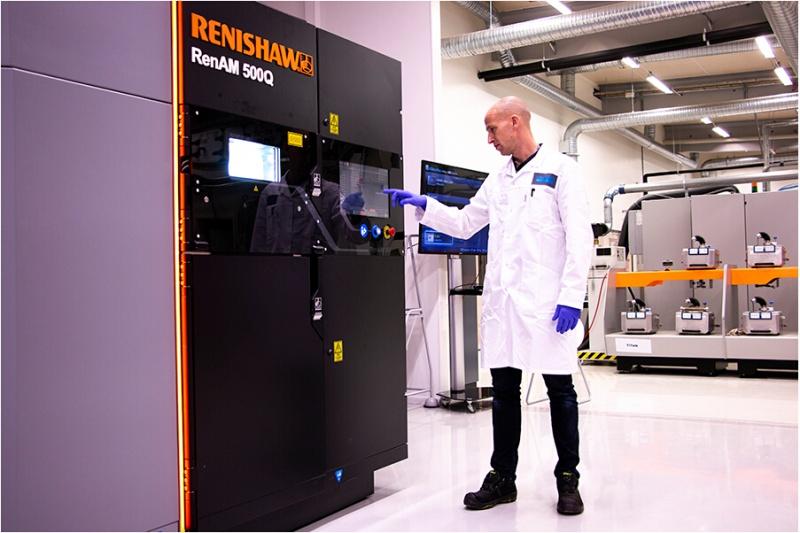 雷尼绍和Sandvik共同推动金属增材制造技术未来发展