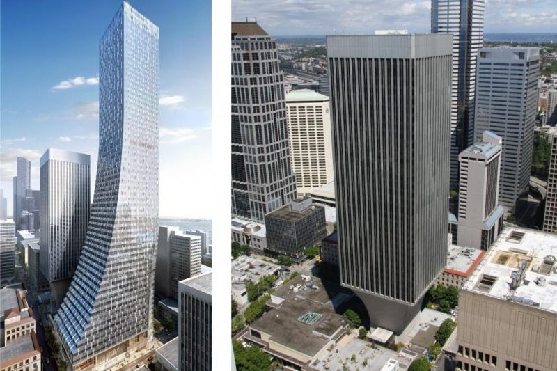 """西雅图第二高的58层大厦居然因为3D打印""""弯腰""""了!!!"""