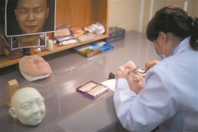 广州市殡葬服务中心正式推出3D打印遗体修复服务