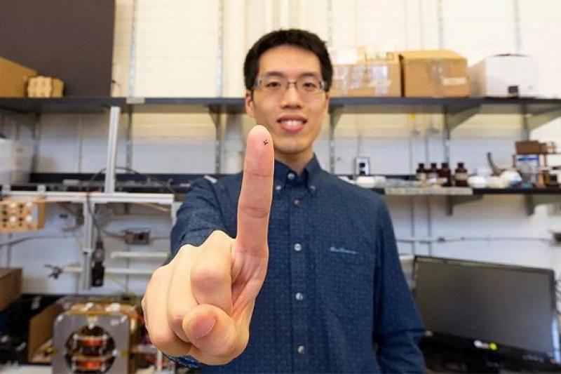 磁驱动折叠机器人,3D打印仅需20分钟