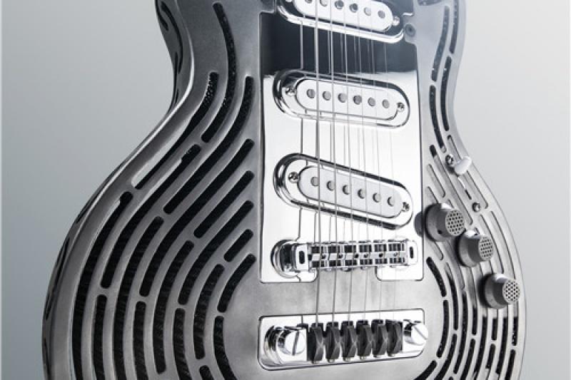 Rock it!他们反其道而行之,打造了全球第一把防砸3D打印吉他