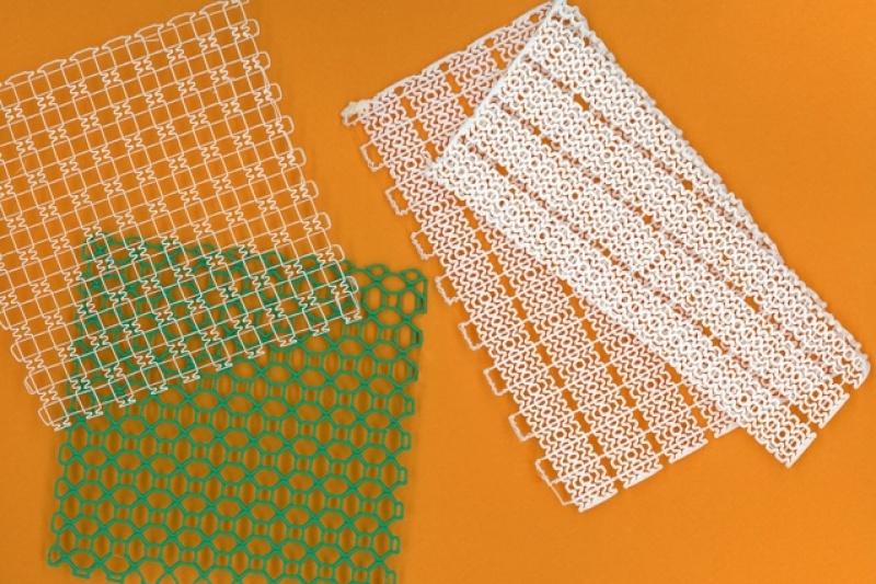 软如皮肤的3D打印纤维