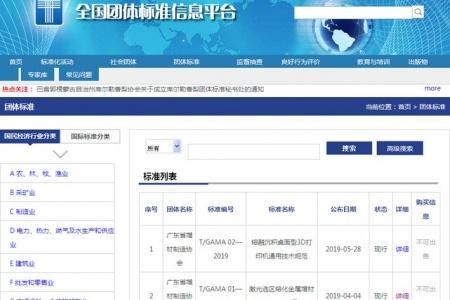 广东省增材制造协会主导制定两项团体标准正式发布