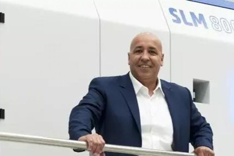 与SLM Solutions新任CEO-Meddah Hadjar先生讨论金属增材制造和航空航天应用