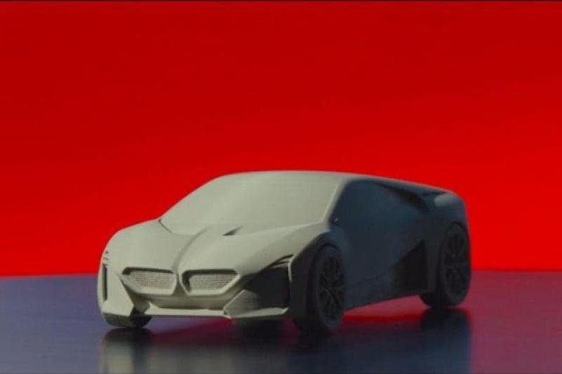 宝马提供免费文件 允许人们3D打印自己的Vision M Next概念车模型