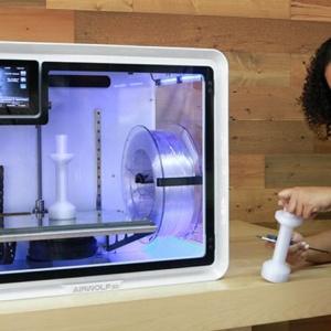 价格实惠,Airwolf 3D推出多材料双挤压EVO R 3D打印机