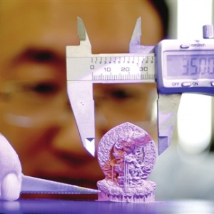 天津工业级3D打印精度达微米级 位居国际先进水平