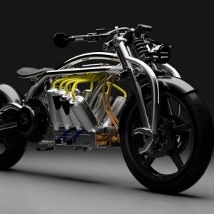 柯蒂斯公司为ZEUS 8电动摩托车推出3D打印部件