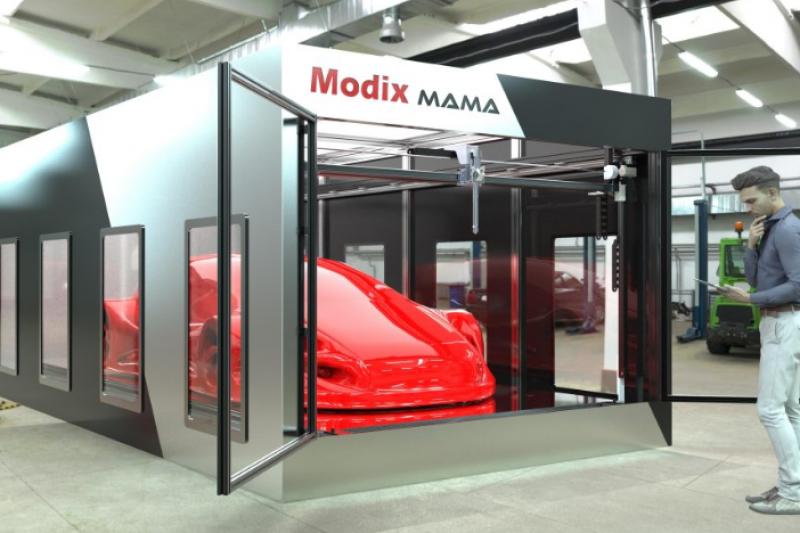 Modix推出超大型3D打印机Modix MAMA