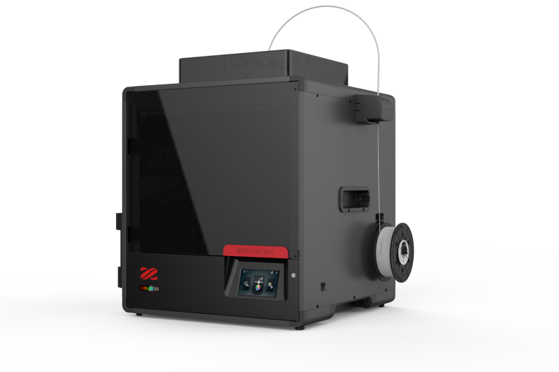 XYZprinting推出彩色3D打印机