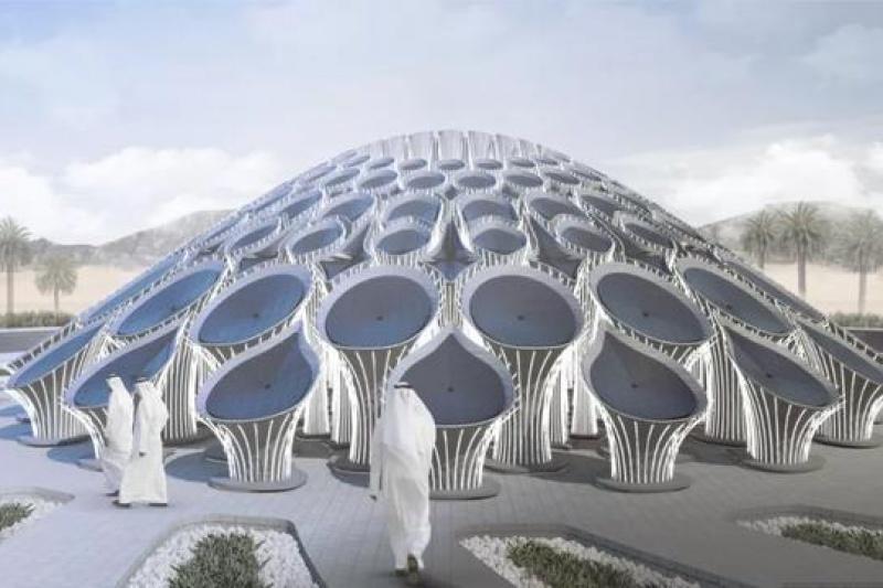 2020迪拜世博会首个3D打印混凝土展馆亮相