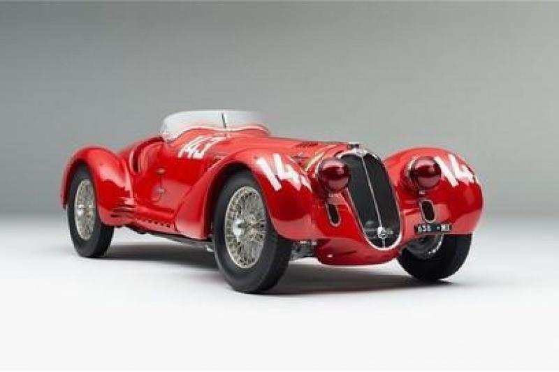 3D打印豪华汽车车模 令人心动的收藏品
