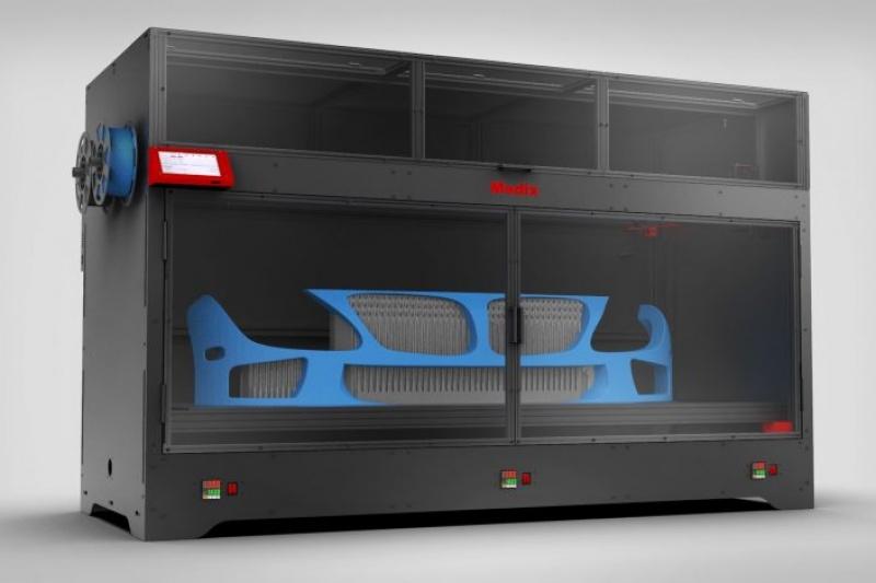 Modix发布三款大幅面3D打印机新品