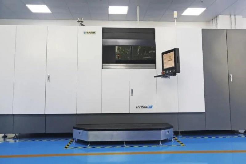 亚洲首台HT1001P投产,华曙高科助力山东创联打造环渤海地区最大3D打印服务中心