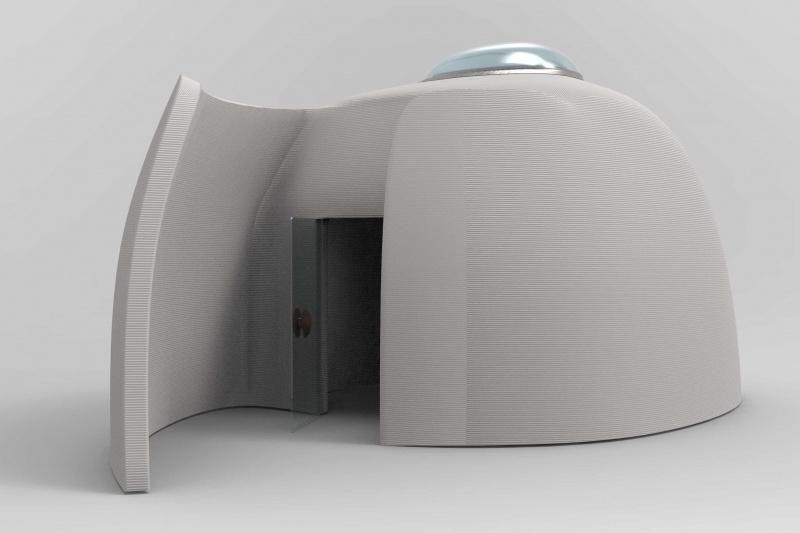 上海首个混凝土3D打印图书屋1月中下旬开放
