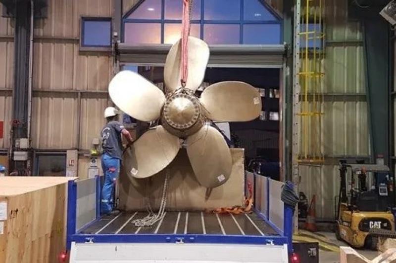 全球最大3D打印螺旋桨诞生