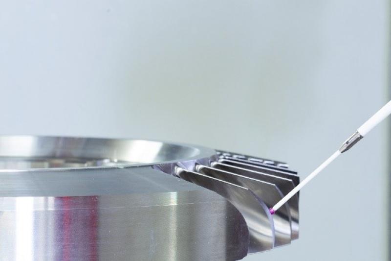 3D扫描可大幅提高叶盘铣削过程的精度和效率