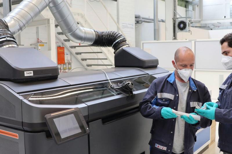 不再纸上谈兵,大众将3D打印运用量产车上