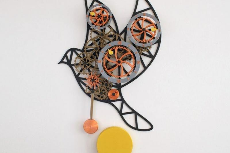 设计分享: 3D打印机械挂钟