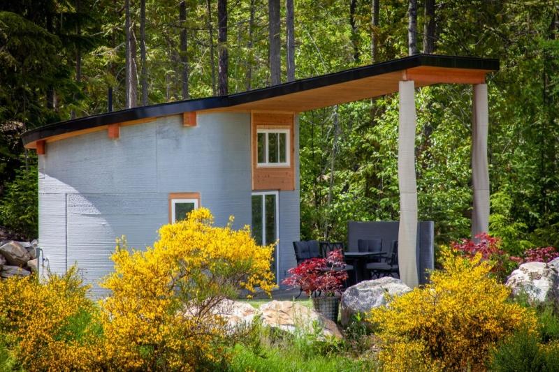 加拿大3D打印度假屋上架Airbnb