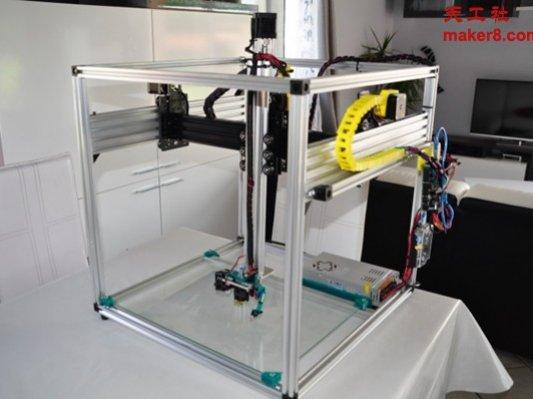 来自法国的大尺寸3D打印机Maximus XL