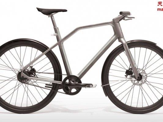 3D打印钛金属自行车Solid即将上市
