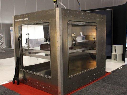 3D-Group展出巨型3D打印机Mammoth