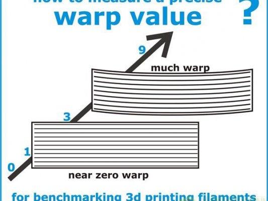 【完美打印】如何衡量3D打印线材翘曲程度?
