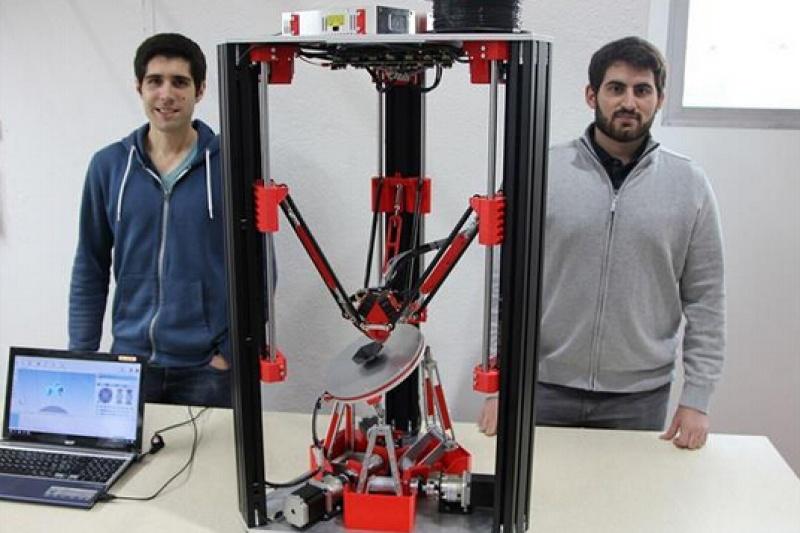 苏黎世两学生开发六轴FDM 3D打印机:无需支撑!
